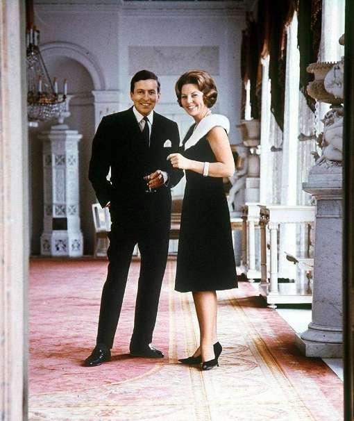 Беатрикс и её муж принц Клаус