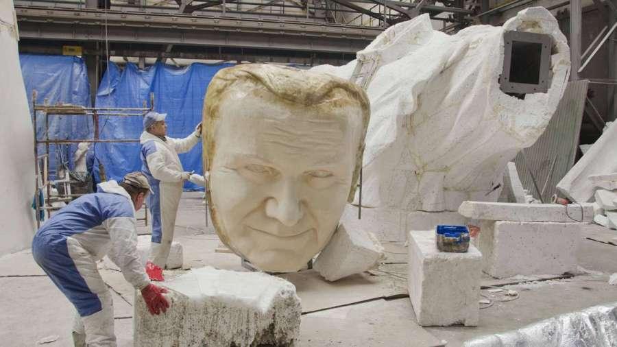 Самая большая статуя Иоанна Павла II