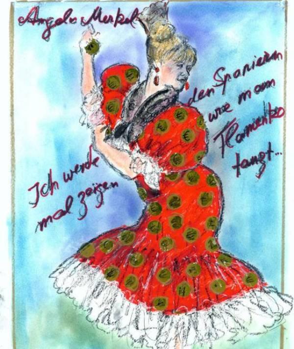 «Я покажу испанцам, как танцевать фламенко...»