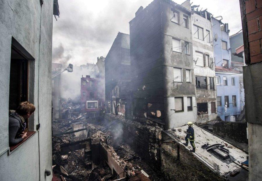 Пожар в Бермео