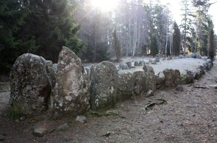 """""""Каменные корабли"""" в Скандинавии"""