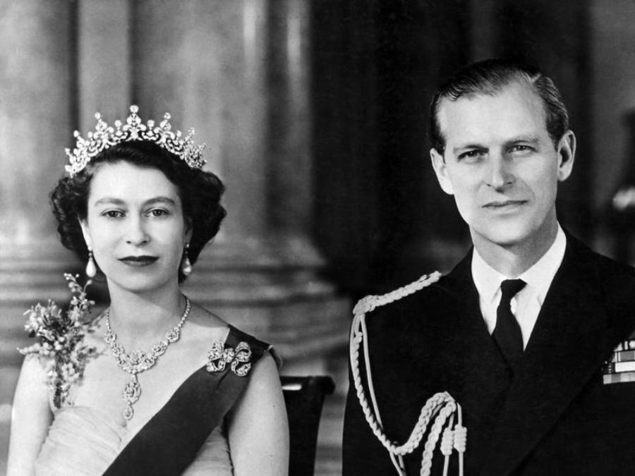 Свадьба Елизаветы и Филипа, 1947 г.