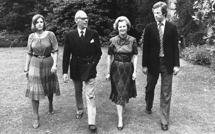 Тэтчер со свей семьей, 1979 г