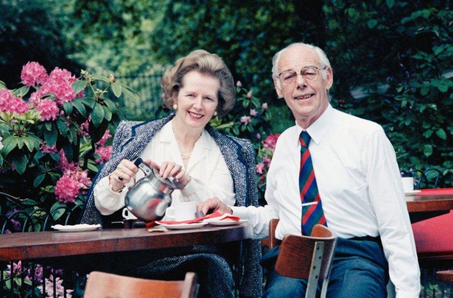 С мужем Денисом, 1987 г