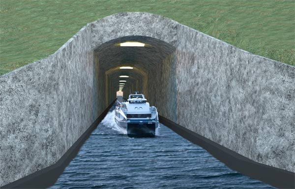 Туннель Stad Skipstunnel