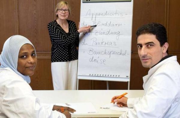 Немецкий язык для иностранных медиков