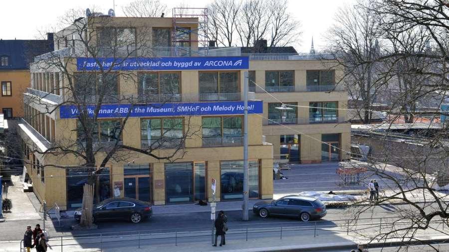 Новый музей в Стокгольме