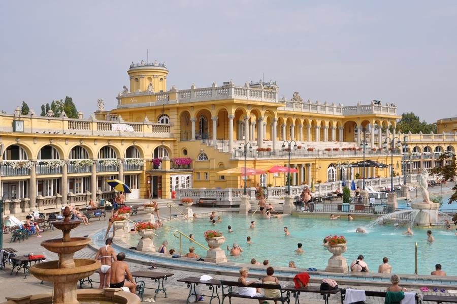 Будапешт достопримечательности: купальни Сечени