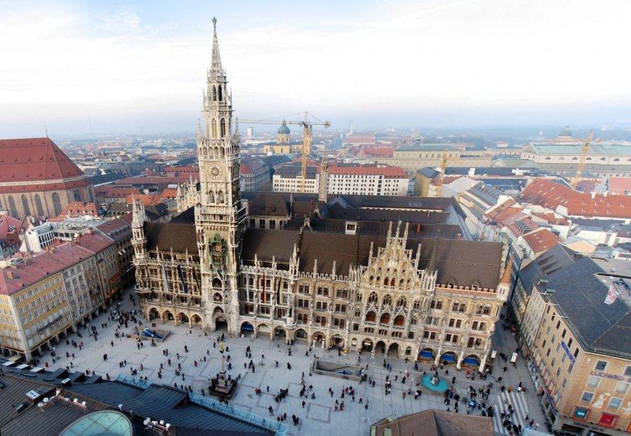 Достопримечательности Мюнхена: Мариентплац
