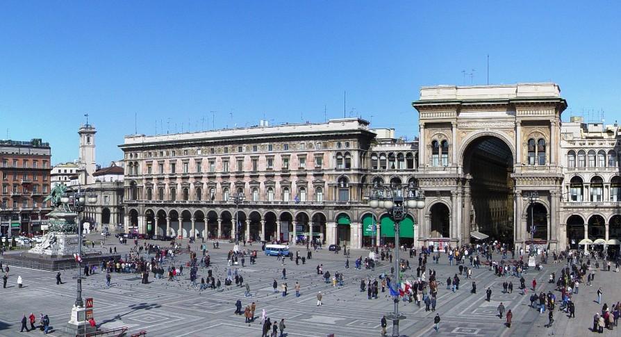 Соборная площадь Милана