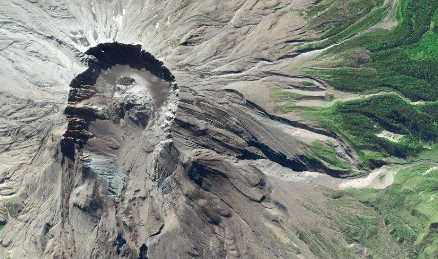 Вулкан Св. Елеены, шатат Вашингтон (США)