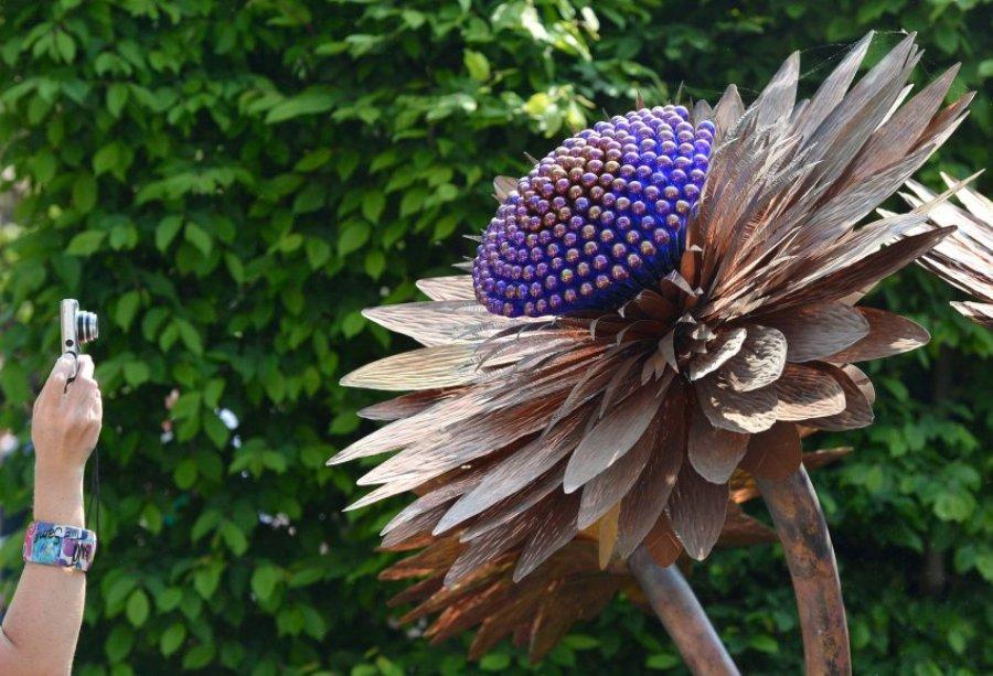 Выставке цветочного и ландшафтного дизайна