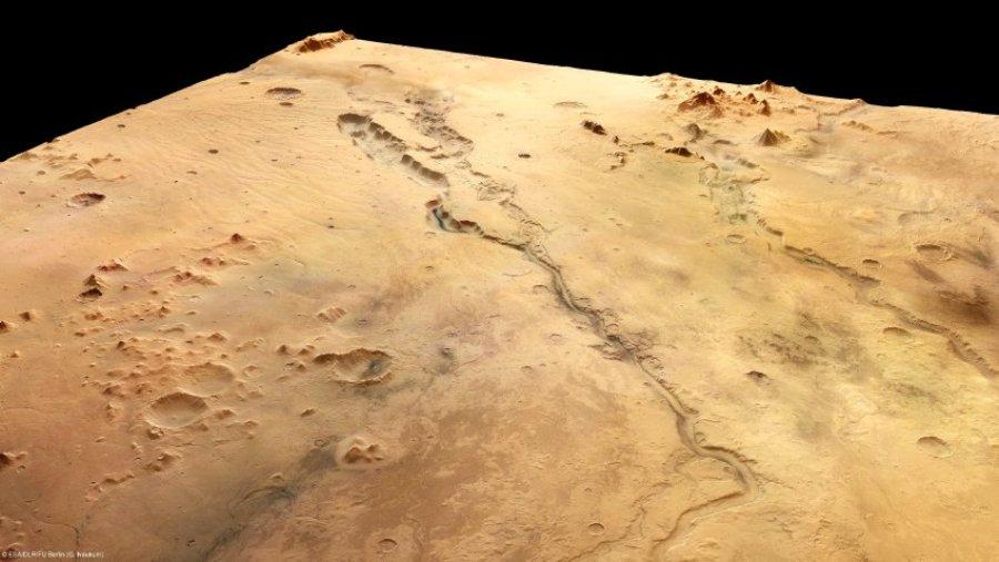 Фотографии Марса, сделанные зондом