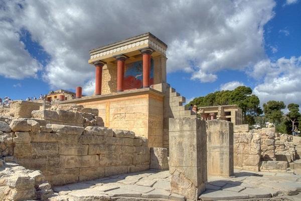 Архитектура Древней Греции, минойская цивилизация
