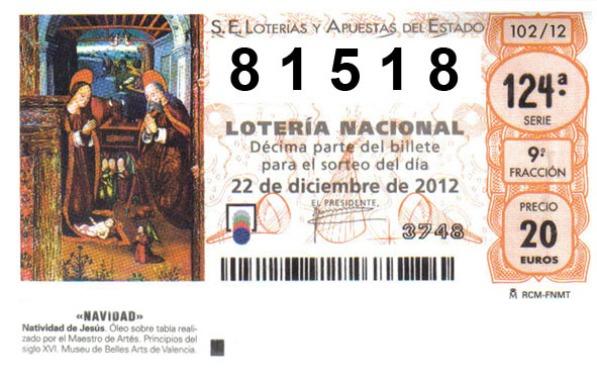 Лотерея El Gordo