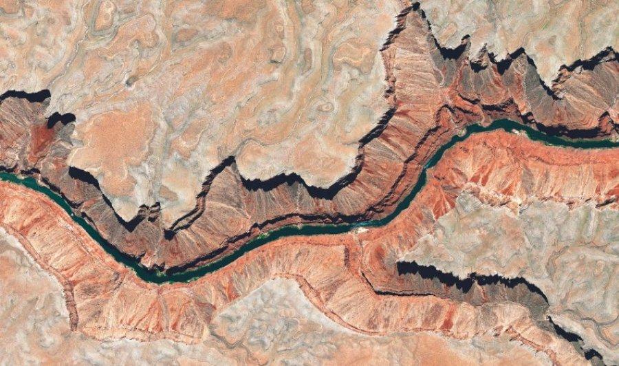 Мраморный каньон в Аризоне (США)