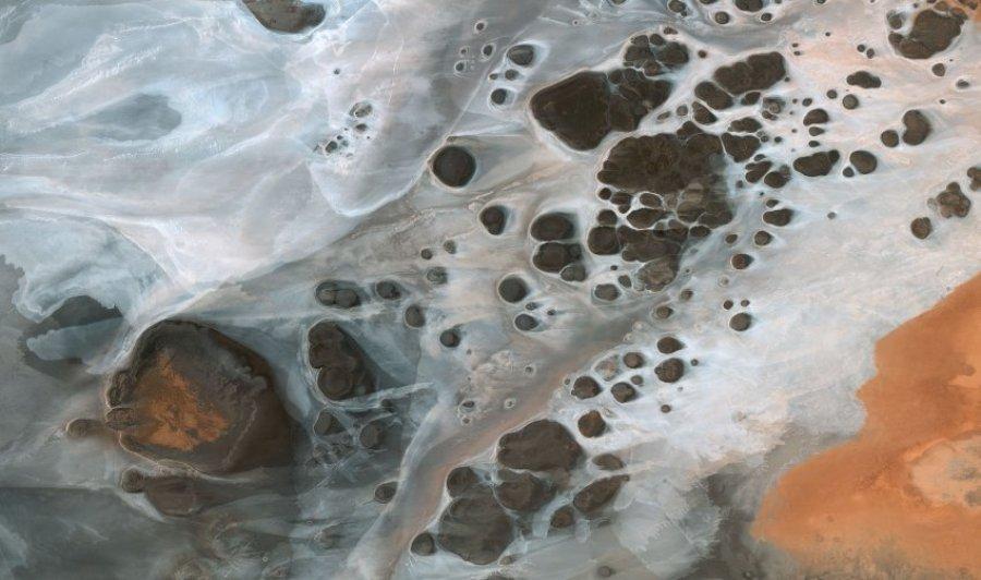 Соленое озеро Шотт-эль-Джерид, Тунезия