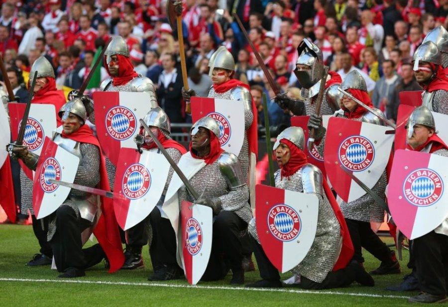 Церемония открытия финала Лиги чемпионов