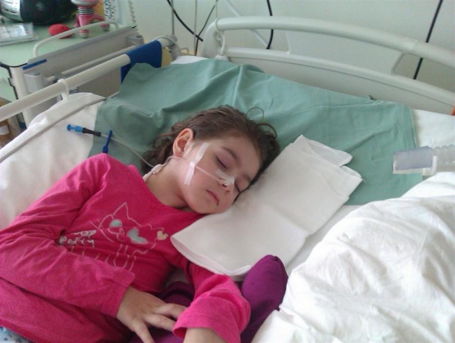 Апрель 2012 года врачи уже не верили в пробуждение маленькой пациентки