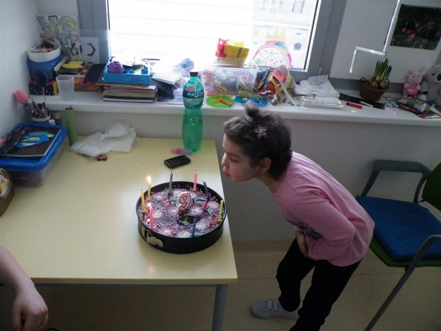 В январе 2013 года после своего пробуждения Катерина отпраздновала 9-летие