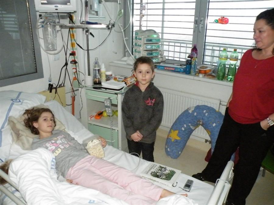 Катерина в самом начале заболевания при госпитализации в больнице Мотол