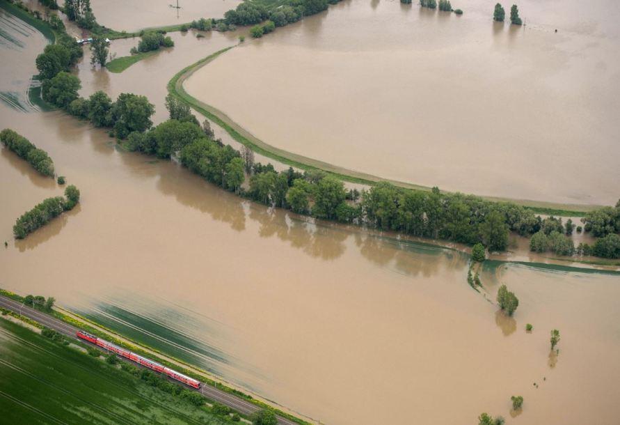 Наводнение в Австрии