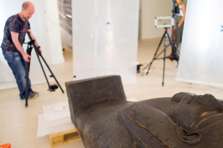 Возвращение мумии к жизни в Швеции