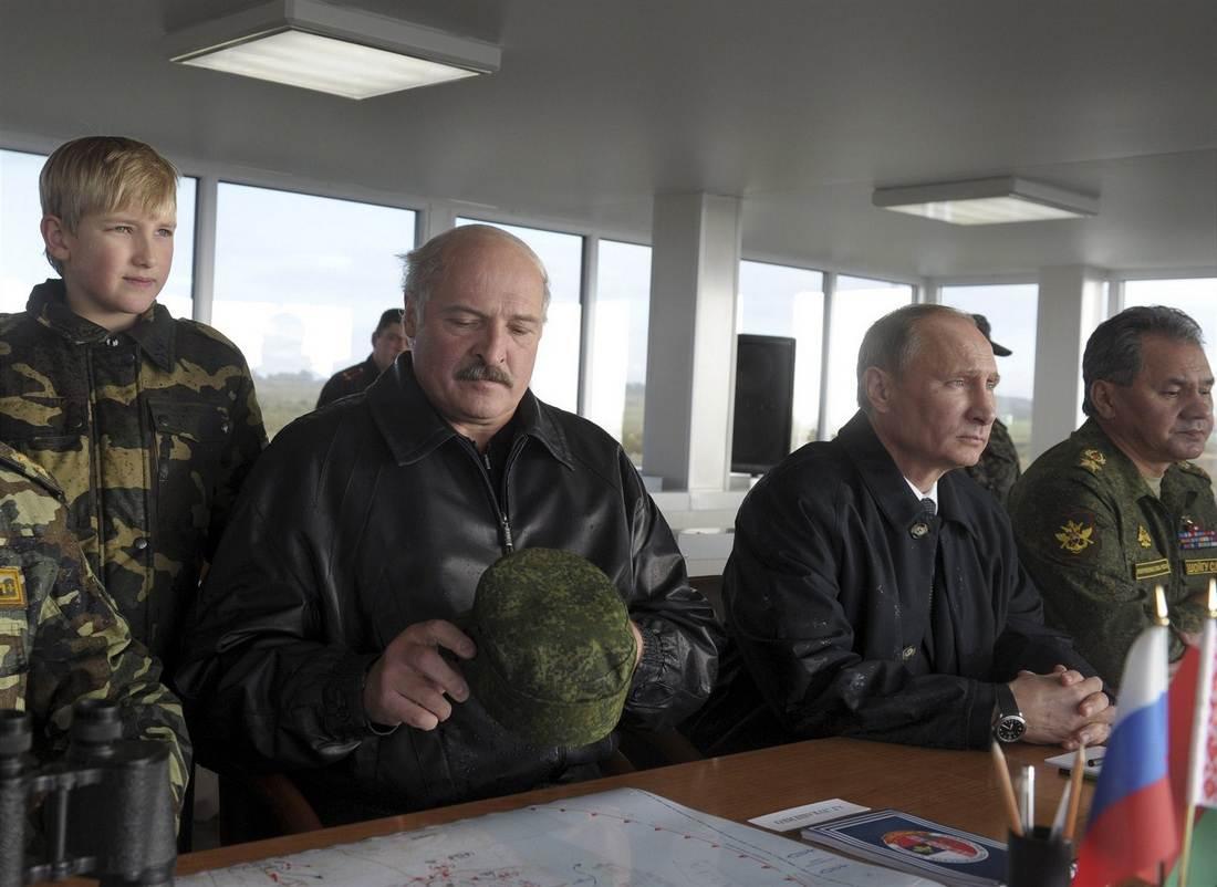 Запад-2013 - военные учения в Калининградской области