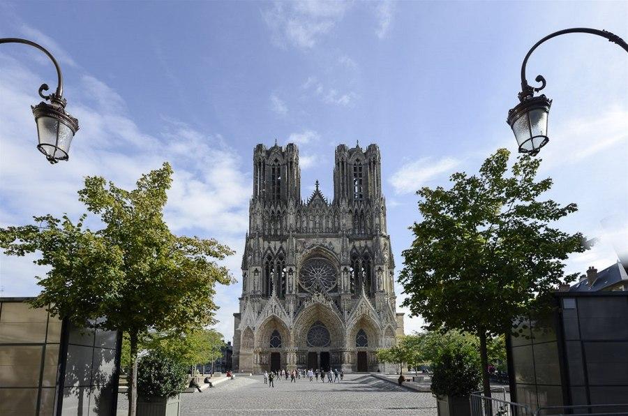 Достопримечательности Франции: Собор Нотр Дам в Реймсе