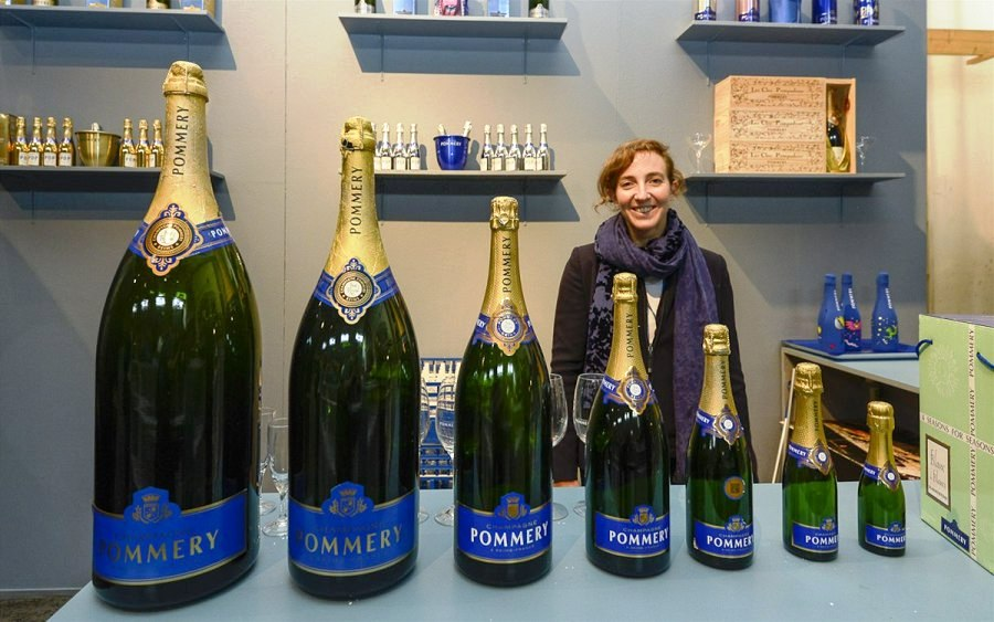 Купить бутылку шампанского можно любого размера