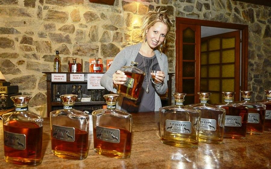 Дегустация виски Guillon