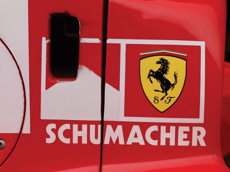 Автомобиль Михаэля Шумахера