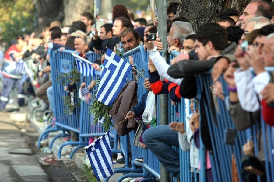 Военный парад в Греции