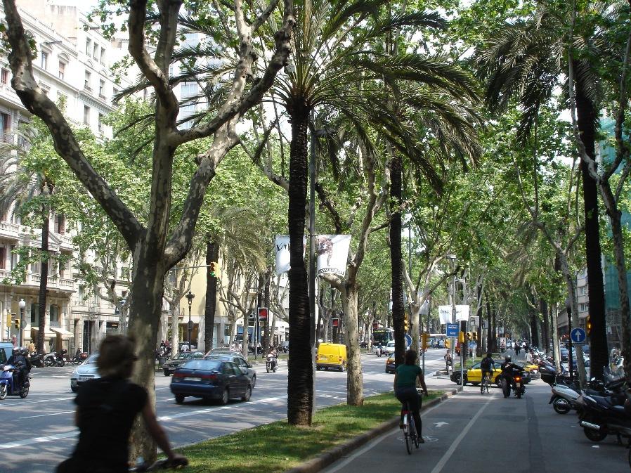 Avinguda Diagonal в Барселоне