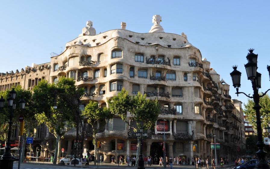 район La Pedrera в Барселоне