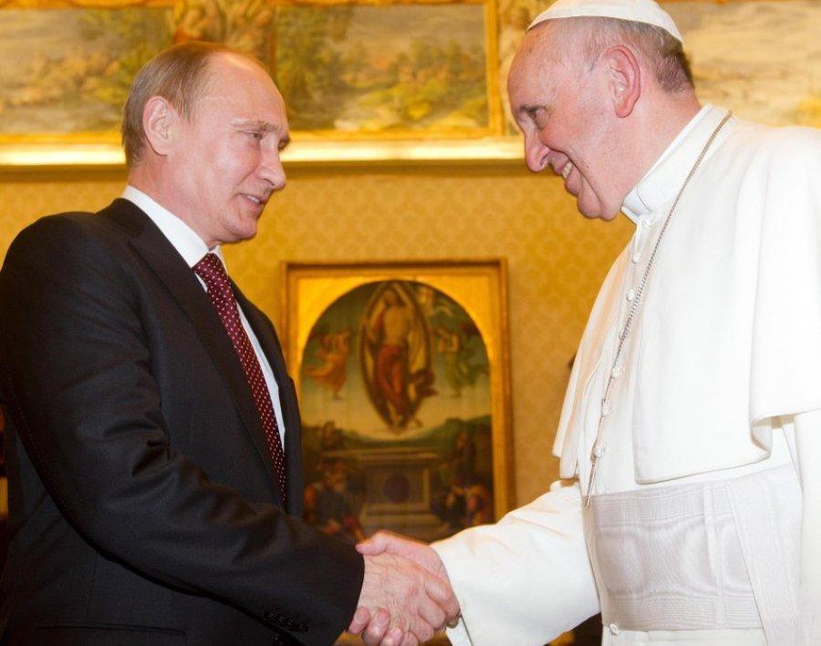 Встреча Путина с Франциском