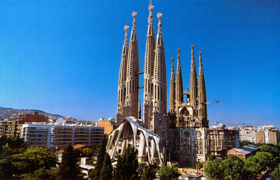 собор La Sagrada Familia