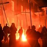 Костюмированная процессия в Льюисе (5 ноября 2013)