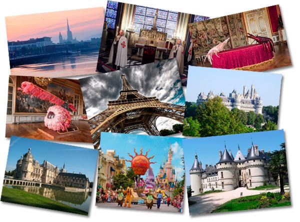 Достопримечательности и самые красивые места Франции