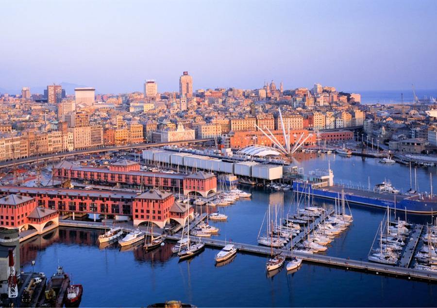 Путешествие по Европе, Генуя