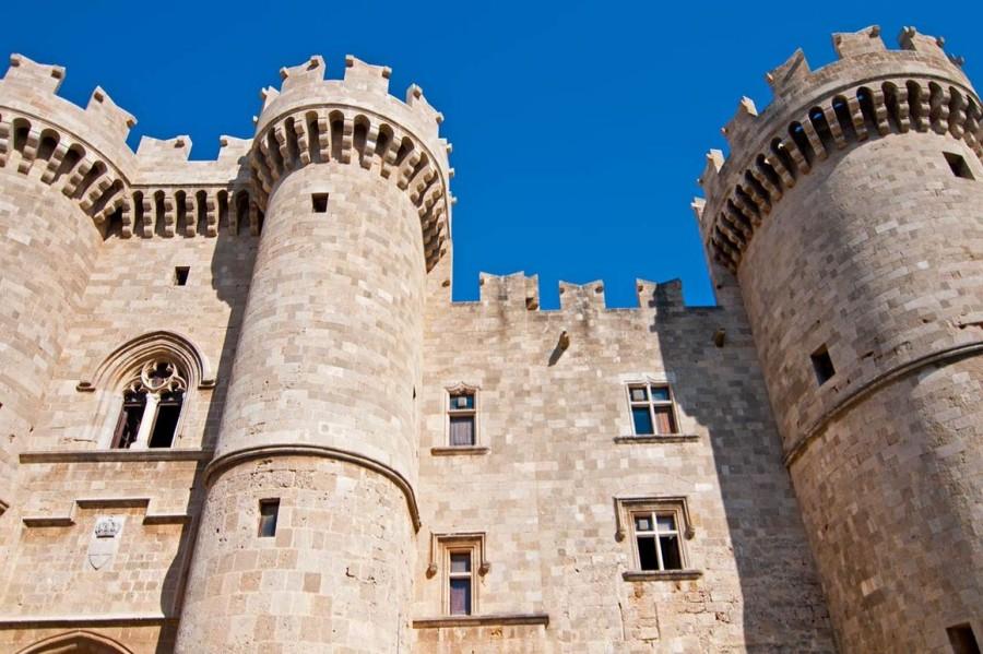 Дворец Великого магистра старого города Родос. Родос достопримечательности