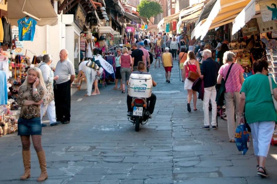 Сувенирные лавки старого города Родос