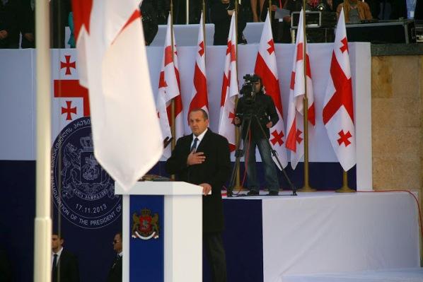 Инаугурация президента грузии
