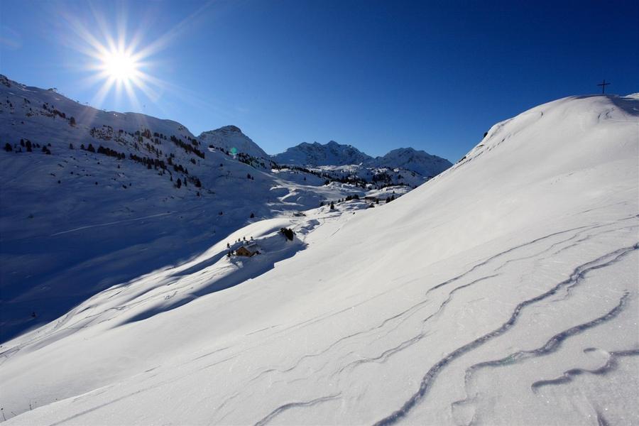Зимний пейзаж в Варт Шрёкен, Хочтаннберг, Австрия