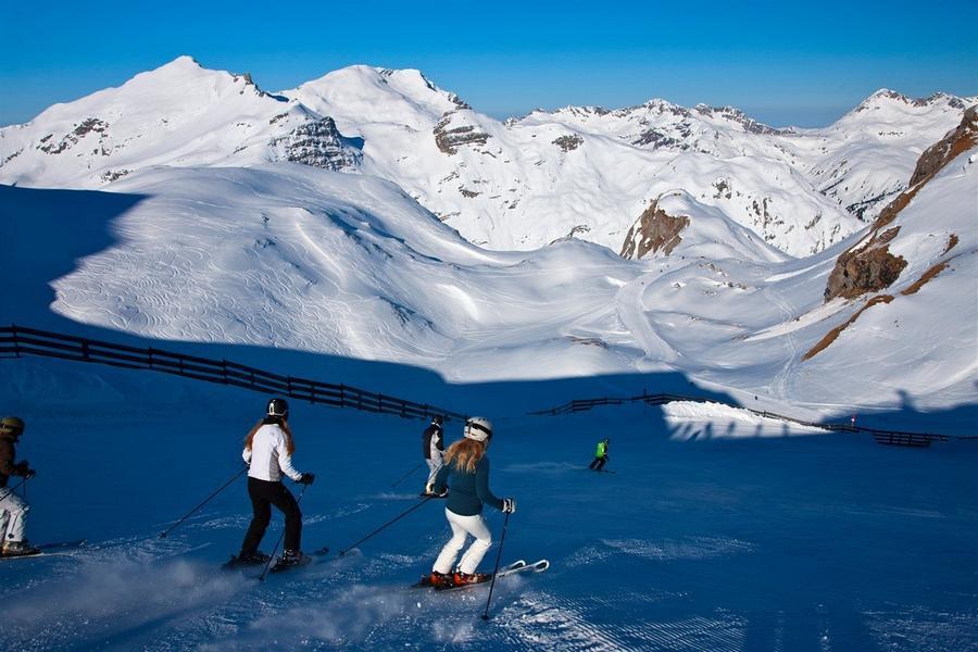 Лучшие горнолыжные курорты Европы - Лех Цюрс, Австрия