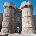 Ворота в старый город Родос - Морские