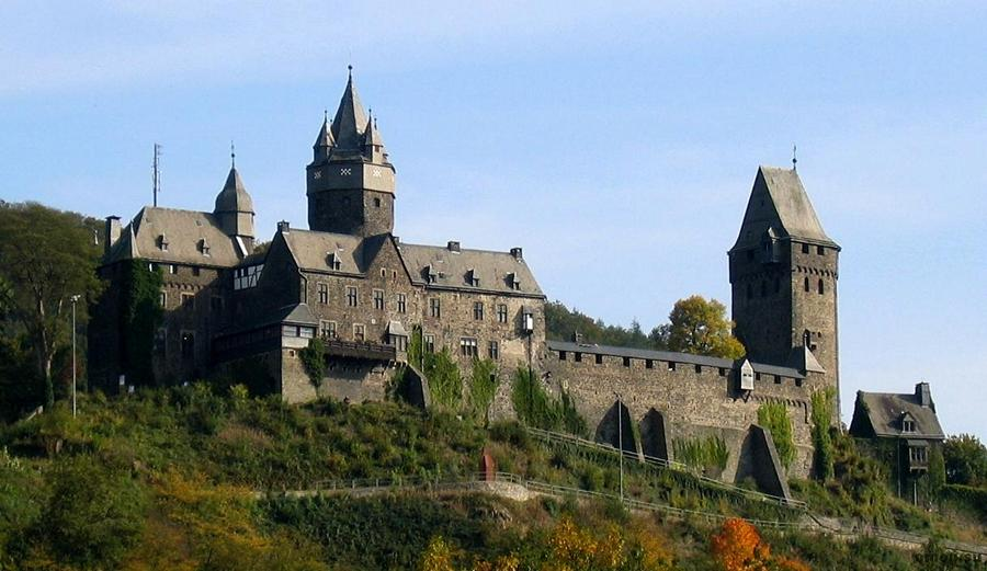 Замки Германии.  Замок Альтена - Burg Altena
