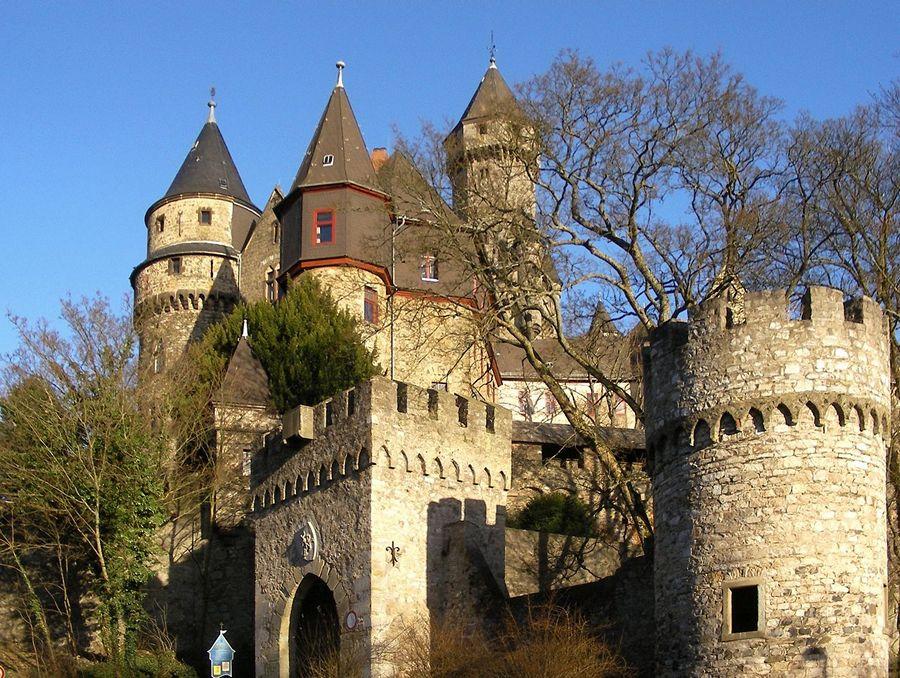 Замки Германии. Замок Браунфельс - Schloss Braunfels
