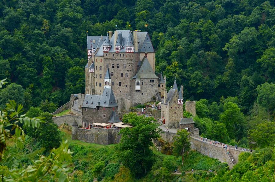 Замки Германии - Замок Эльц - Burg Eltz
