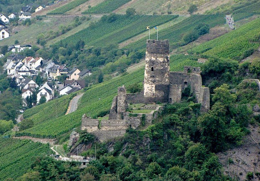 Замки Германии. Замок Фюрстенберг - Burg Fürstenberg